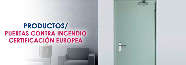 Puertas contra incendio certificación europea