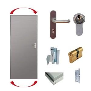 accesorios para puertas reversibles