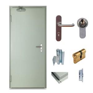 accesorios puertas contra incendio con certificación ul