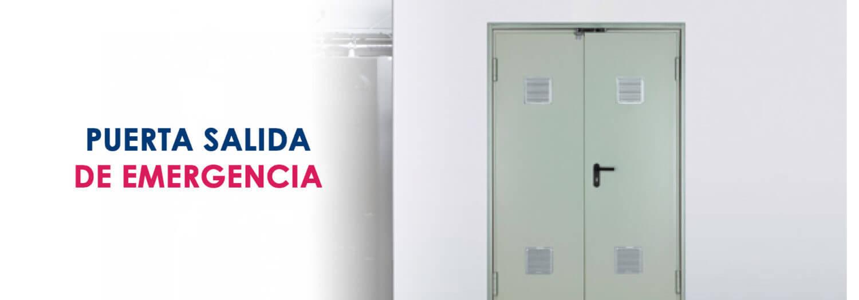 puerta salida de emergencia