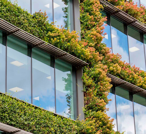 Edificios Verdes Puertas Asturmex