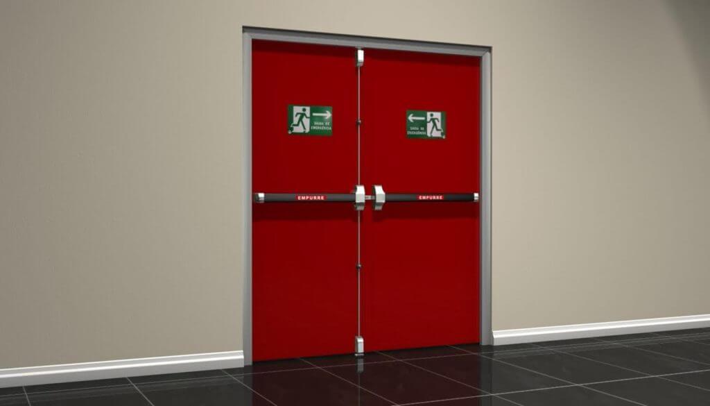 Puertas salida de emergencia