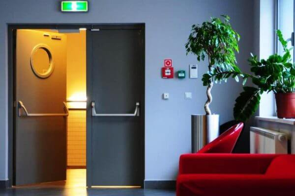 Puertas para salida de emergencia